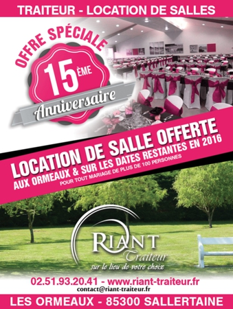 Location Salle Vendee Reception Vendee Mariage Vendee 50 100